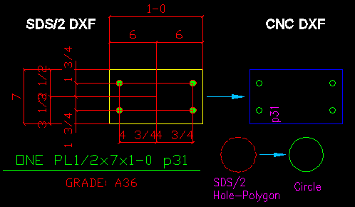 Sds dxf cnc main form